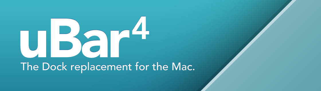 uBar - The Dock replacement for the Mac.