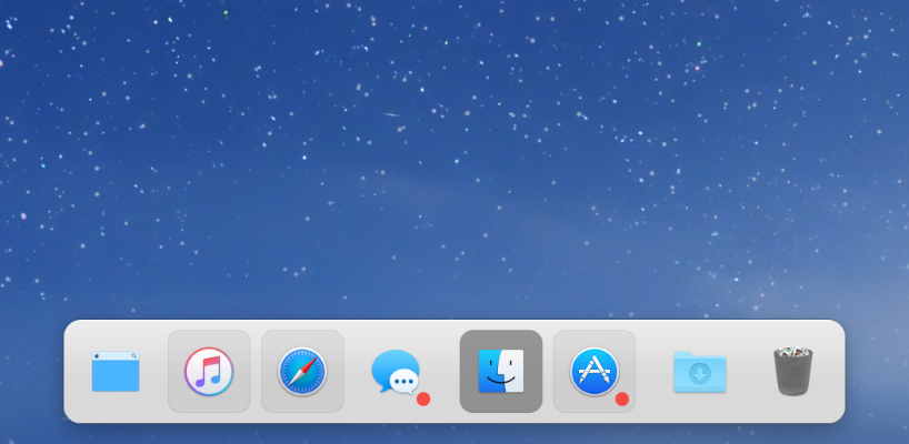uBar as a dock